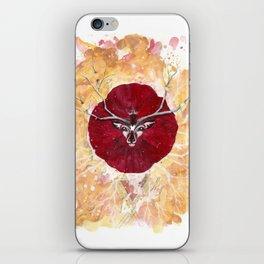 Animal de Amapola iPhone Skin