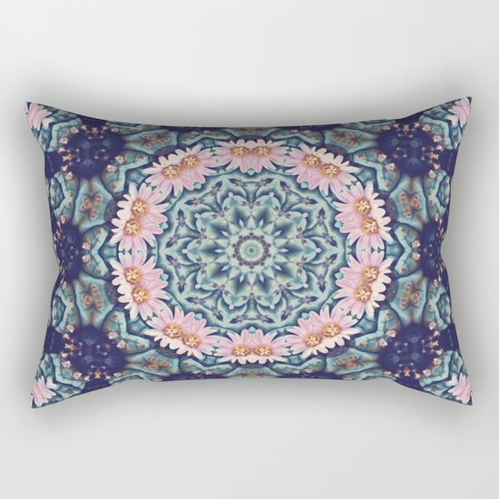 Shaping Realities (Mandala) Rectangular Pillow