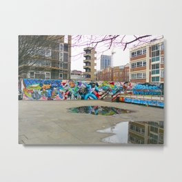 Shoreditch Metal Print