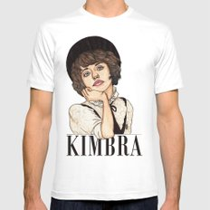 Kimbra Mens Fitted Tee White MEDIUM