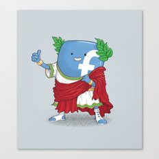 The Caesar and 42000 more Romans in the circus like this Canvas Print