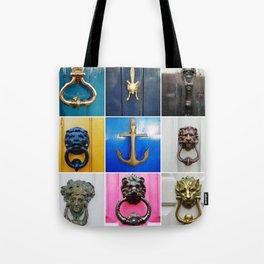 Knock Knock C Tote Bag