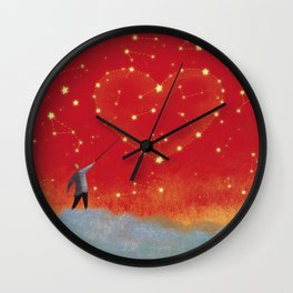 Stars Constellation Wall Clock