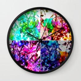 Blooming Wall Clock