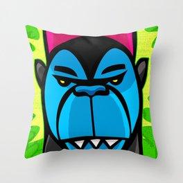 Monsta Throw Pillow