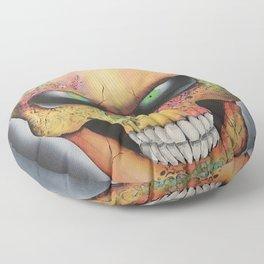 Mrs. skull Floor Pillow