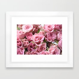 Morning Blush... Framed Art Print