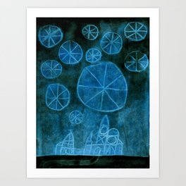 Crystal City 01-14-10a Art Print