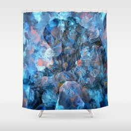 But For The Grace Of God Shower Curtain