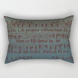 Music Sheet Rectangular Pillow