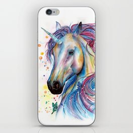 Whimsical Unicorn iPhone Skin