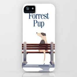 Forrest Pup iPhone Case