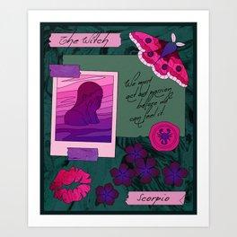 Scorpio II Art Print