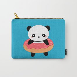 Kawaii Donut Panda Carry-All Pouch