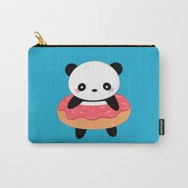 Kawaii Donut Panda Carry-All Pouch