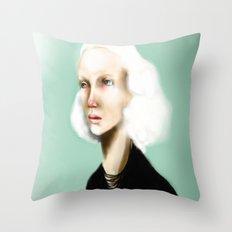 The Girlfriend Throw Pillow