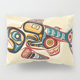 Salish Salmon Pillow Sham