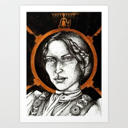 Ladies of Dragon Age: Josephine Art Print