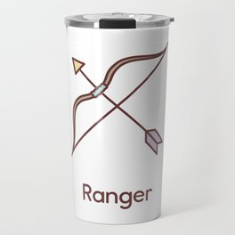 Cute Dungeons and Dragons Ranger class Travel Mug
