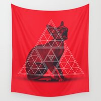 sphynx Wall Tapestries featuring Sacred Sphynx by Dr.Söd