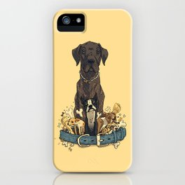 Dogs1 iPhone Case