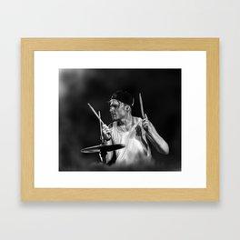 The Drummer Framed Art Print
