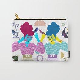 Double Birdgirls Carry-All Pouch