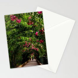 Flower Archway in Alhambra, Spain Stationery Cards