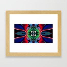 Emerging Emerald Framed Art Print