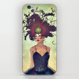 WH 002 Gothic Art Dancer iPhone Skin