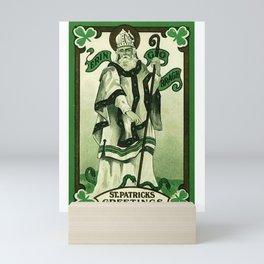 St. Patrick's Greetings (Erin Go Braugh) Mini Art Print