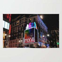 New York by night Rug