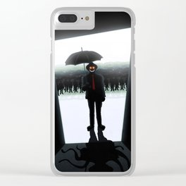 Bad Dreams Clear iPhone Case