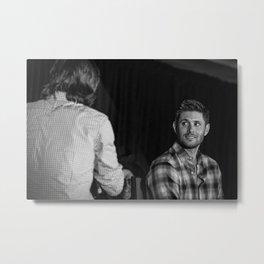 Jensen Ackles | DCcon 2014 Metal Print