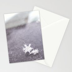 perfect snowflakes Stationery Cards