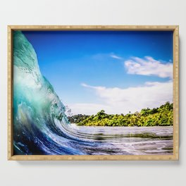 Tropical Wave Serving Tray