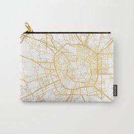 MILAN ITALY CITY STREET MAP ART Carry-All Pouch