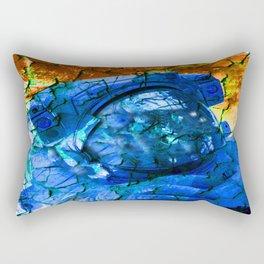 Cracked Astronaut Rectangular Pillow