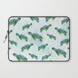 Sea Turtle Squad Laptop Sleeve