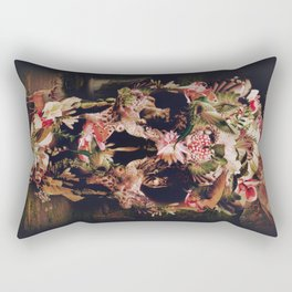 Jungle Skull Rectangular Pillow