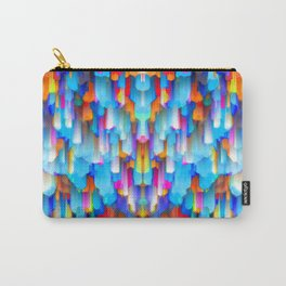 Colorful digital art splashing G397 Carry-All Pouch