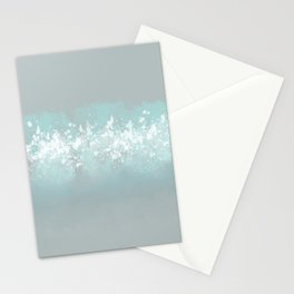 Deep Blue Gray Stationery Cards
