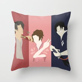 Samurai Champloo Silhouettes Throw Pillow