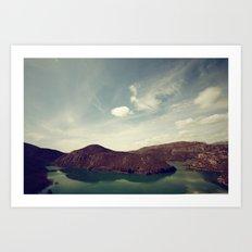 La isla Art Print