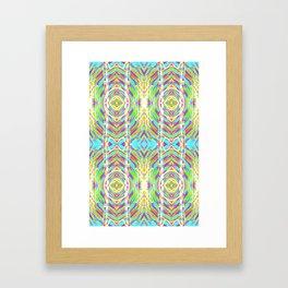 Light Dance Ripple edit Framed Art Print