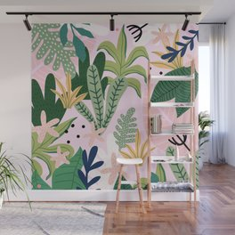 Into the jungle - sunrise Wall Mural
