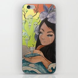 This Woman's Work iPhone Skin