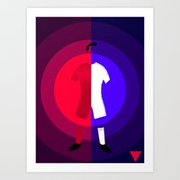 real madrid Art Prints featuring Ronaldo (Portugal/Real Madrid) by SuperG