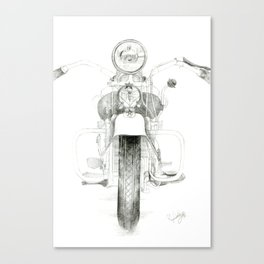 Motorcycle 1 Canvas Print