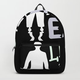 Limpin' Ain't Easy Get Well Leg Amputee  Backpack